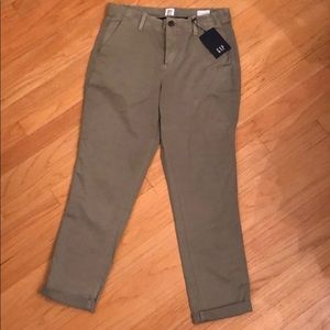 NWT Gap Girlfriend Chinos